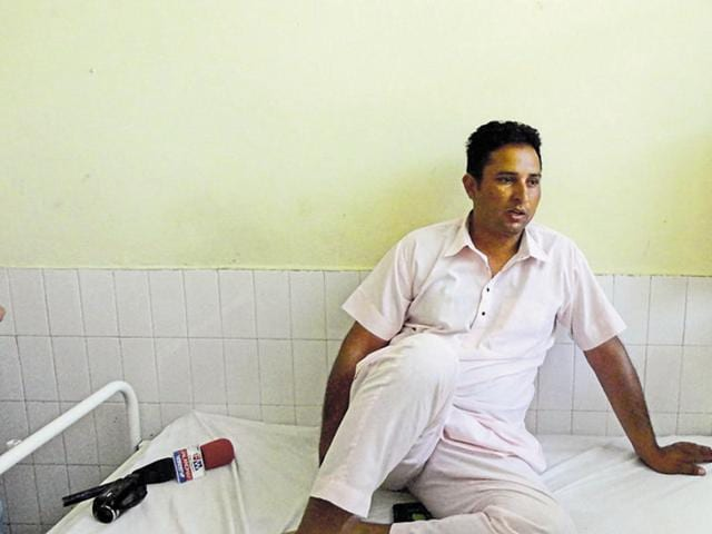 Manpreet has been hospitalised. Doctors at the Nakodar civil hospital found three injury marks on his body and have sent the medico-legal report to police.
