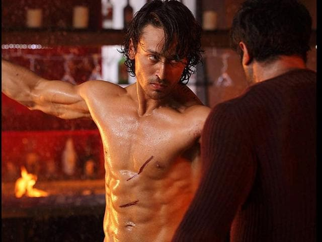 Tiger Shroff breaks bones with the grace of a ballet dancer. He pirouettes and swivels and glides and back-flips with such elegance that you are forced to stay interested in this hare-brained mishmash of a movie.