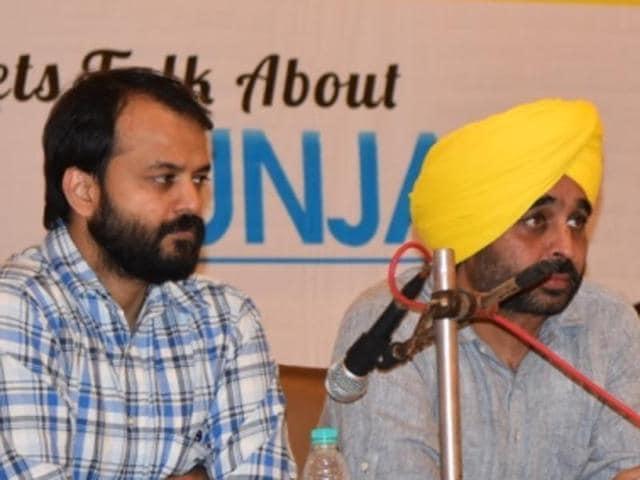 Aam Aadmi Party,Punjab dialogue,Kanwar Sandhu