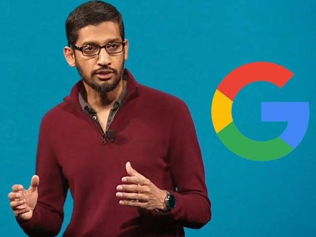 """In a letter posted on official Google blog on Friday, Pichai reiterated """"to organise the world's information and make it universally accessible and useful""""."""