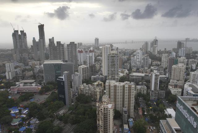 Mumbai, India, June 21, 2014: Worli area in Mumbai, India on Saturday, June 21, 2014. (Photo by Kalpak Pathak / Hindustan Times)(Hindustan Times)