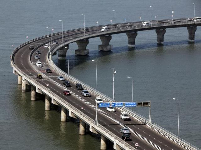 The Bandra-Worli sea link