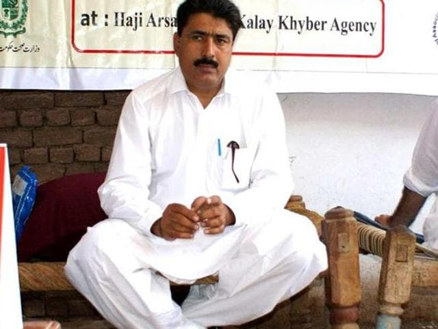 File photo of Pakistani doctor Shakeel Afridi who helped CIA agents track al Qaeda chief Osama bin Laden in  Abbottabad, Pakistan, in May 2011.