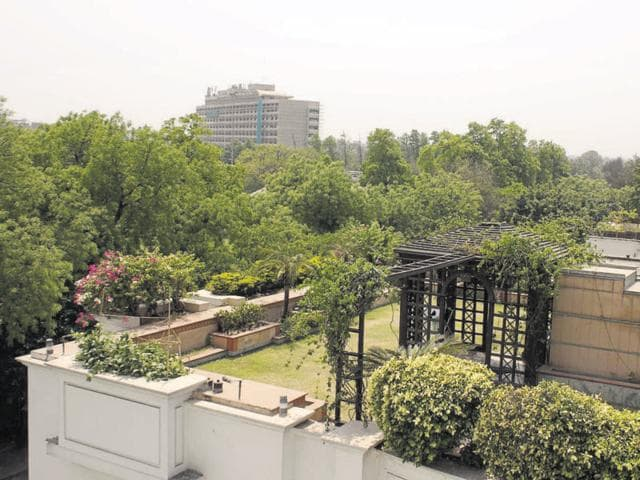 Sunder Nagar and seven other areas were designed as part of a buffer zone around the LBZ.