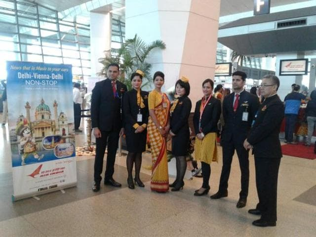 A makeover for Air India's cabin crew is in the offing soon with an internal committee, mostly comprising the in-flight staff, suggesting various sartorial options for draping themselves