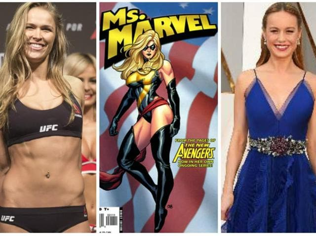 Recent Oscar-winner Brie Larson and MMA star Ronda Rousey are among the names who are rumoured to take Captain Marvel's role in the film.