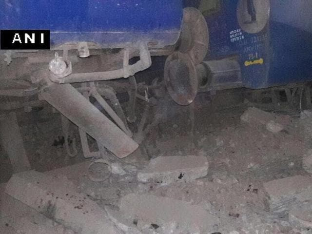 Seven coaches of Delhi-Faizabad Express got derailed near Hapur in Uttar Pradesh.