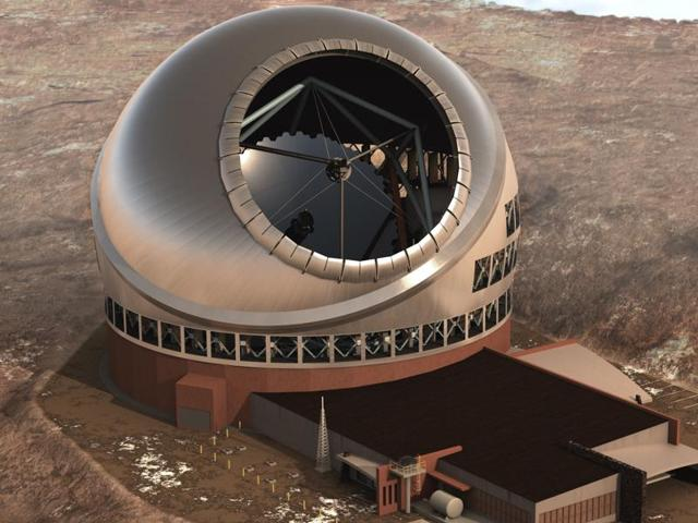 Alternative sites such as Hanle in Ladakh are being considered for the Thirty Metre Telescope project after protests in Hawaii stalled its construction.