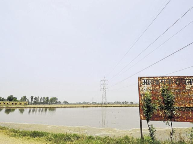 The 67-acre landfill site in Greater Noida's Astoli village.