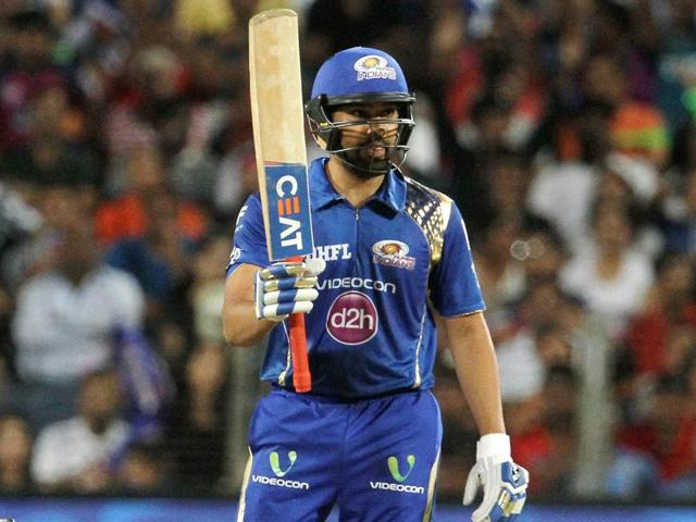 Rohit Sharma scored his fifth half-century in the tournament, four of them resulting in victories.