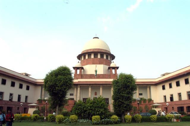 File photo of Supreme Court .