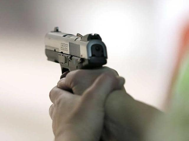 The head constable was accused of firing a gunshot at Kanti Mohan, sarpanch of Muthada Kalan village in Jalandhar district, in a land dispute case.