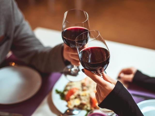Researchers also found that those who dined with wine every night were less likely to binge drink.