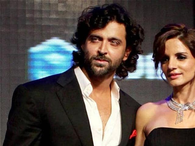 Hrithik and Sussanne separated after 13 years of marriage. (HT Photo)