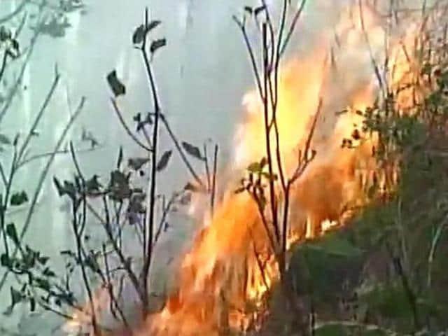 Uttaranchal fire