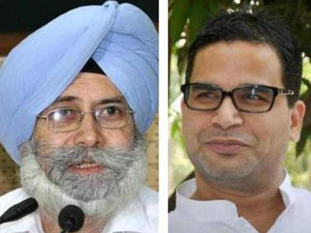 A day after AAP leader HS Phoolka claimed that Congress poll strategist Prashant Kishor contacted him to seek suggestions on the issue of justice to Sikhs, a messy social media war erupted over the issue.