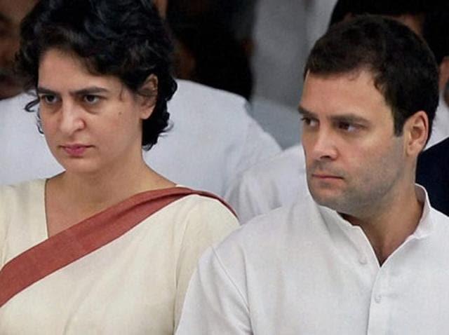 Priyanka Gandhi,Rahul Gandhi,Uttar Pradesh assembly polls