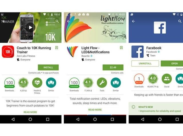 Starting this week, Google Play now identifies apps that display ads while you are using them