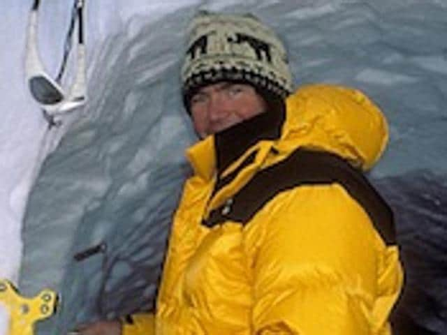 The remains of renowned mountain climber  Alex Lowe and cameraman David Bridges were found in a glacier, in Tibet.