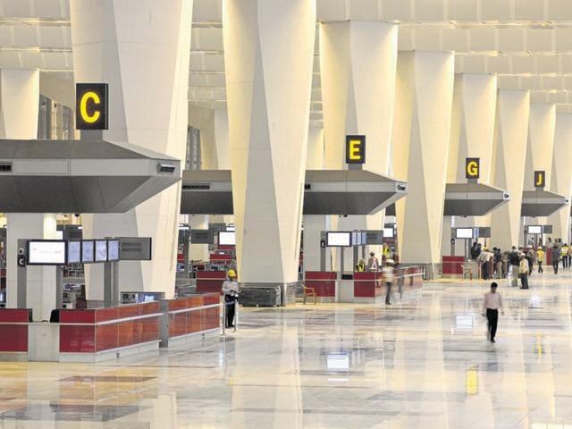 Delhi airport makeover
