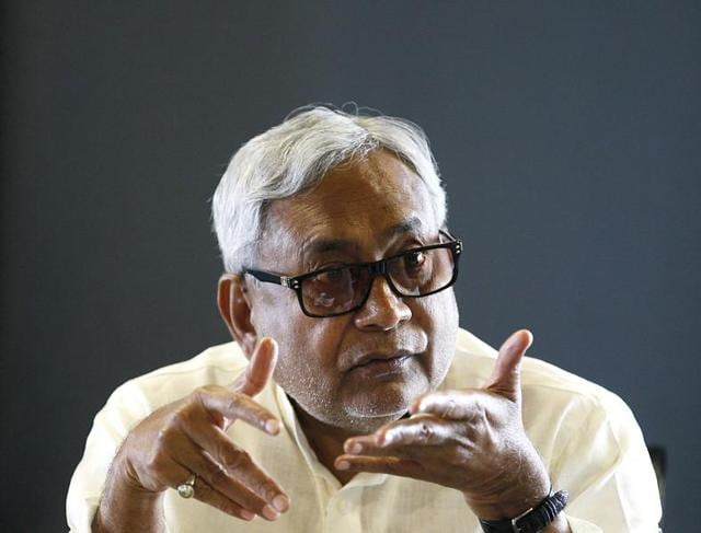 A youth, who flung a slipper at Bihar's chief minister Nitish Kumar at the Janata durbar here on Monday, was arrested by the police.