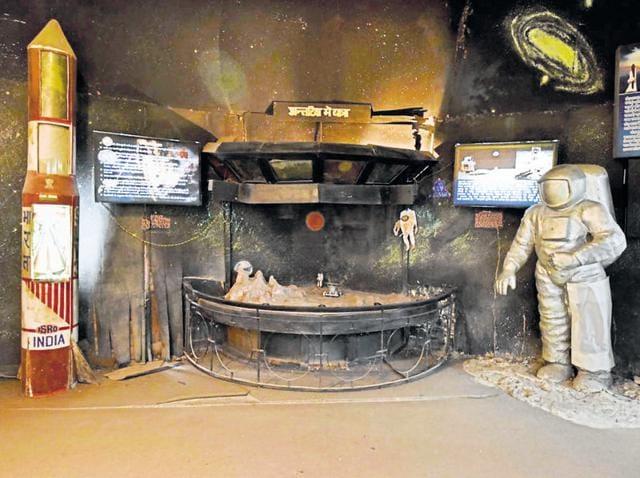 The Child Resource Centre, renamed Nirbhaya Museum, awaits renovations, in New Delhi.
