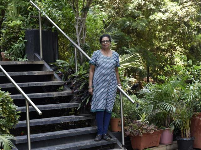 Maria D'Souza approached schools, housing societies and churches in Bandra, convincing them that dealing with their waste was the only solution.