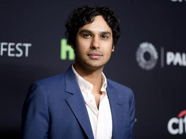 Kunal Nayyar,The Big Bang Theory,Raj Koothrappali