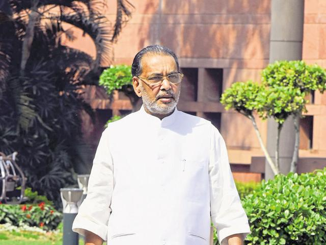 """We prepared an elaborate corrective scheme to mitigate the effects of a prospective drought,"" says Union minister of agriculture, Radha Mohan Singh."
