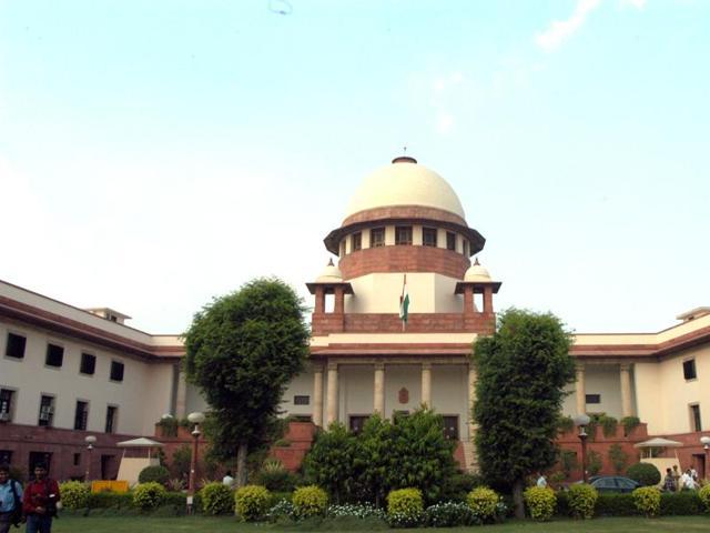 File photo of Supreme Court building in New Delhi.