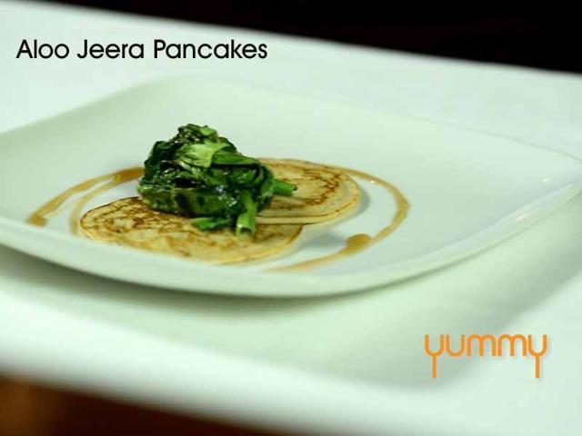 Aloo Jeera Pancakes