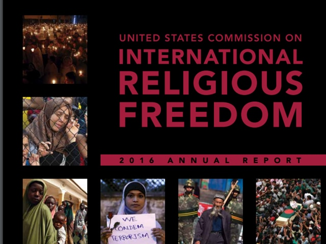 In 2015, religious tolerance deteriorated and religious freedom violations increased in India, said USCIRF