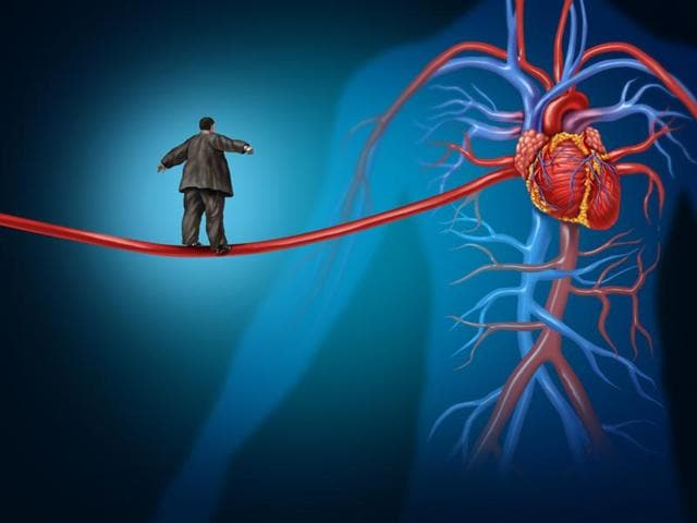 The method currently being used to calculate a person's heart risk could be overestimating the actual risk, say researchers.