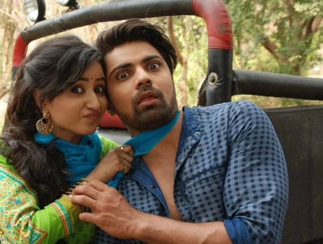 Sana Amin Sheikh and Shravan Reddy in a photo shared by Colors on Twitter.