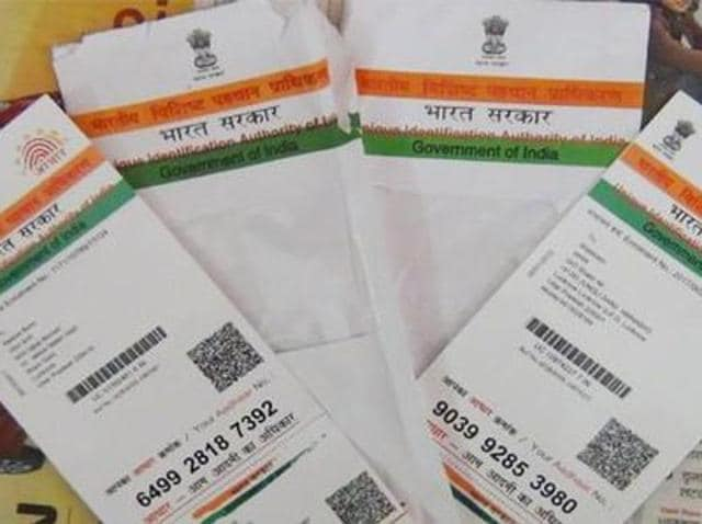 Aadhar cards,private and government schools,Patiala schools