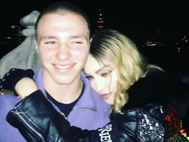 "Madonna posted the photo of herself with Rocco and captioned it, ""We Need!"""
