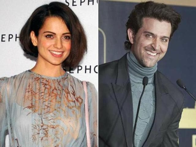 The feud between Hrithik and his Krrish 3 co-star turned nasty after they slapped legal notices on each other.