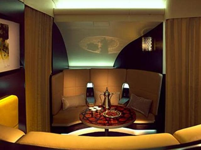 Etihads A380 Airbus Fit With The Residence Includes A Luxury Suite Meant For Two Comprising