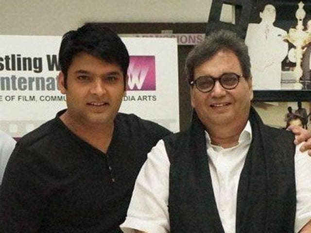 Director Subhash Ghai has praised the comedian for his versatility as an actor and a singer.