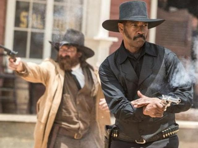 Released in the United States through Sony in September, the movie follows Quentin Tarantino's Westerns Django Unchained and The Hateful Eight among the few Hollywood hits about black cowboys.