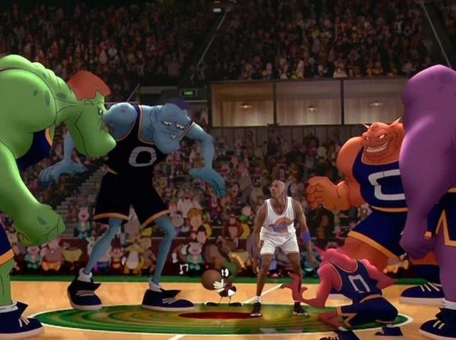 A still from the original film, starring Michael Jordan.