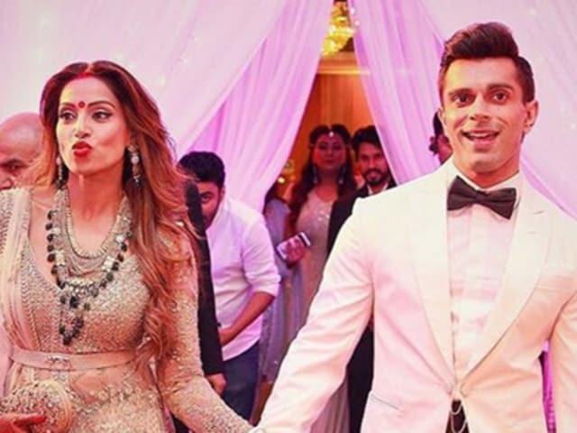 Bipasha Basu and Karan Singh Grover have turned their social media handles into a veritable love fest post wedding. (Instagram)