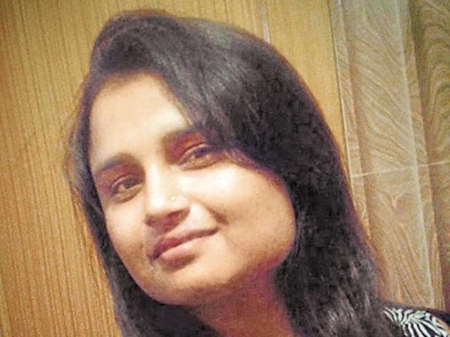 File photo of Pooja Tiwari, who was recently named in an extortion case.
