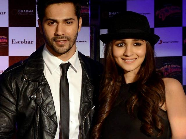 """""""With Varun, I can talk, walk, eat and sleep movies, and not get bored. He is always coming up with ways to make everything better and always wants to push and do more, which makes me push myself more,"""" says Alia Bhatt. Varun Dhawan says he shares an """"honest"""" relationship with Bhatt; adds that it is difficult for him to explain their bond in words."""