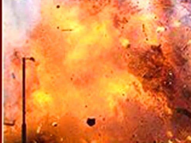 bombs hurled at Christian family's home