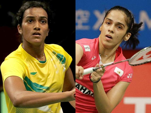 Saina Nehwal and PV Sindhu are India's two entries in the women's singles.