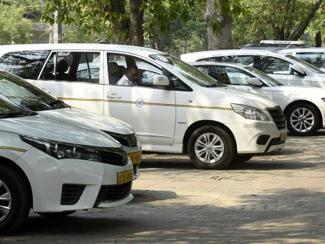 The transport department impounded 50 vehicles in Delhi on Monday that were reportedly charging extra fare from the passengers.