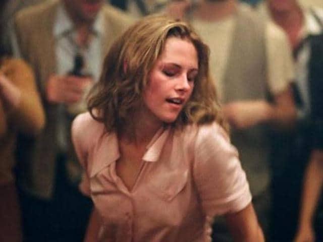 Kristen Stewart in a still from On the Road.