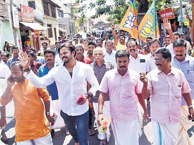 BJP's steady growth is worrying both Cong-led UDF and CPI(M)- backed LDF, who are blaming each other for its surge.