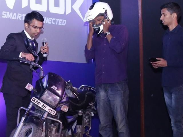 Banaras Hindu University students have designed a 'smart helmet' that can help keep drunk drivers off the road.